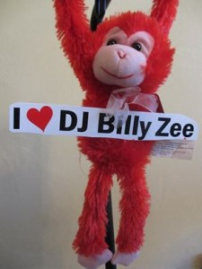Monkey I love Billy Zee